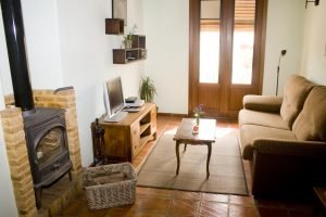 Habitación Superior con chimena e hidromasaje
